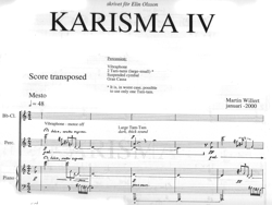 Large image illustration of KARISMA IV